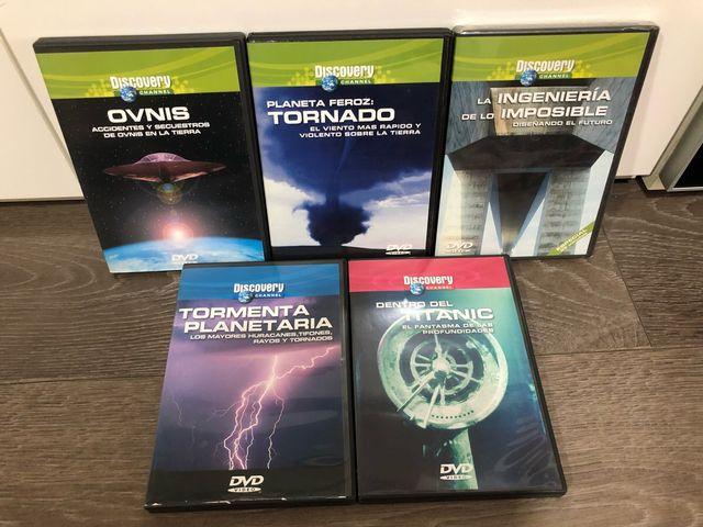 Series, documentales
