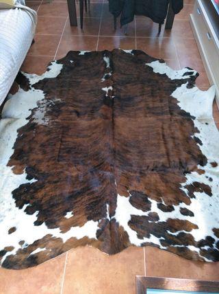 alfombra vaca de piel natural