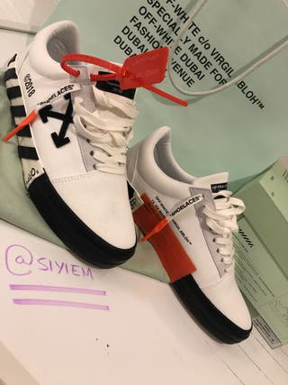 Off White White Low Top Sneakers