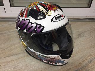 Casco moto integral talla M
