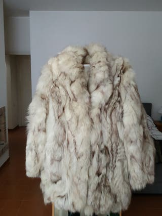 Chaquetón zorro ártico.