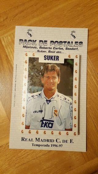 Pack de Postales Real Madrid 1996-1997