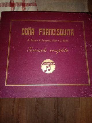 Zarzuela discos antiguos