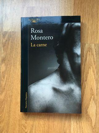 "Libro ""La Carne"" de Rosa Montero."