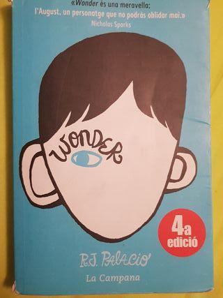 Wonder de R.J.Palacio en catalán