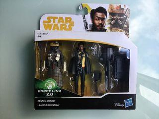 Star Wars figura kessel Guard y Lando Calrissian