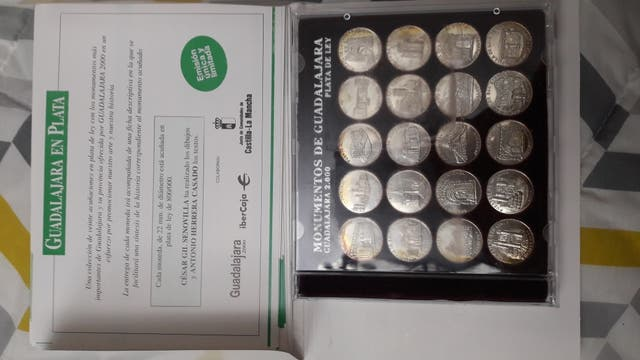 moneda plata Guadalajara