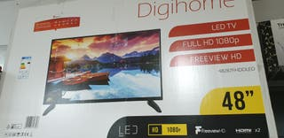 oferta TV LED nuevas de 48 pulgadas 250€garantía