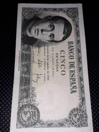 Cinco pesetas 1951