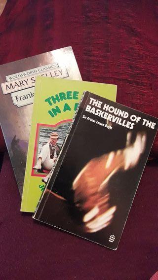 3 Libros en inglés nivel básico