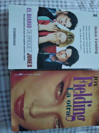 2 libros: El Diario de Bridget Jones y La Otra