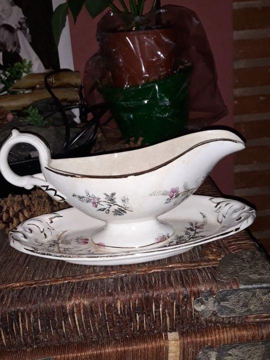 Salsera porcelana antigua