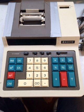 Calculadora electrónica Sanyo