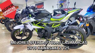2019 MOTOS NUEVAS KAWASAKI Z 125 MEJORES OFERTAS