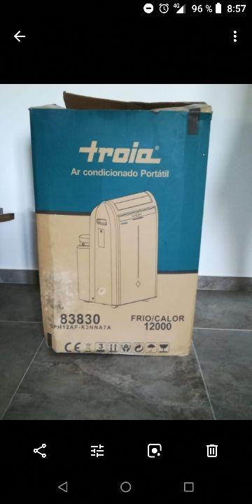 aire acondicionado portátil troia