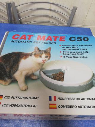 Comedero automático gatos-perros
