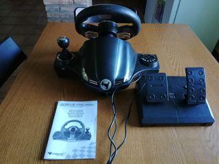 volante drive pro sport y juego F1.