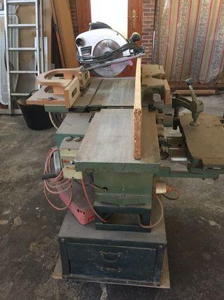 Maquina cepilladora y de corte
