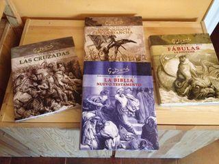 4 libros Gustavo Doré