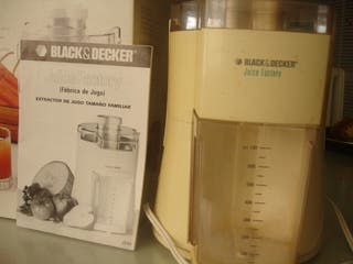 "Máquina de zumos ""black and decker"""