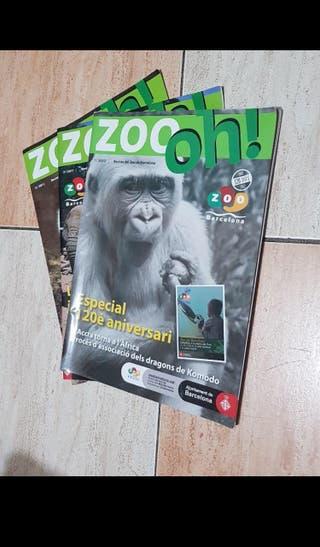 "Revistas ""Zoo oh!"""