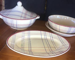 Sopera porcelana francesa Gien