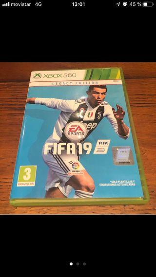 Juego fifa 2019 Xbox 360