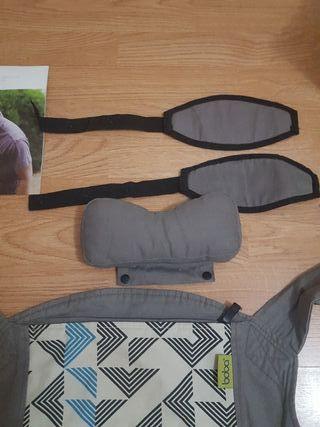 mochila portabebe boba