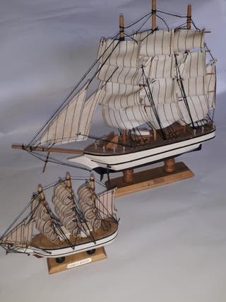 Maquetas barcos CHARLES MORGAN