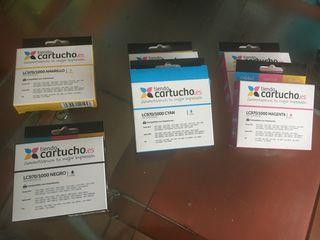6 Cartuchos compatibles Brother LC970