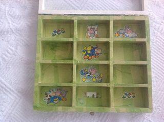 Caja madera barata 6€