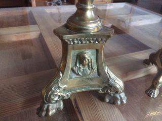 Porta velas de iglesia candelabros