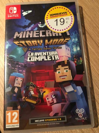 Juego Nintendo SWITCH minecraft story mode