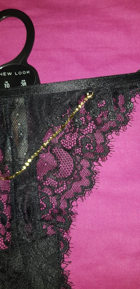 8f262c9143 Lace thong second hand for £8 in London in WALLAPOP