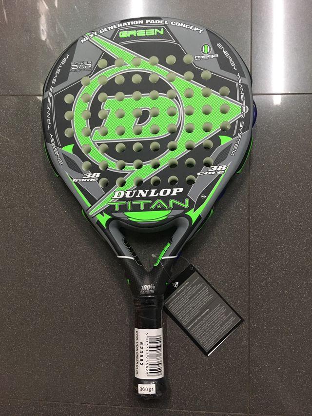 dunlop titan  Pala de padel Dunlop Titan green G1 HL de segunda mano por 75 € en ...