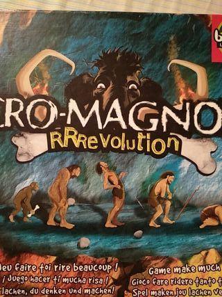 Cro-magnon Rrrevolution juego de mesa