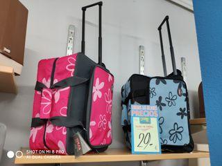 maleta de transporte de maquina de coser con rueda