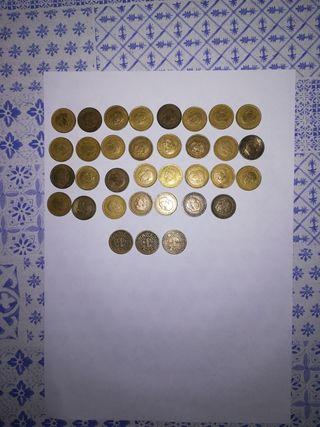 monedas de la peseta