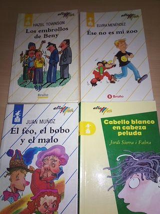 4 libros Alta Mar. Editorial Bruño.