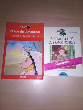 2 libros Tucán. Editorial EDEBÉ.
