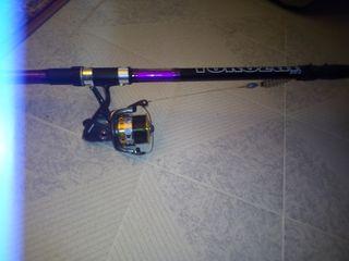 Se vende caña de pescar negociable
