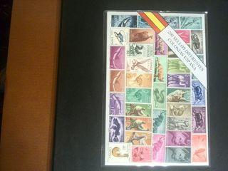 Pequeño lote de sellos de colonias españolas