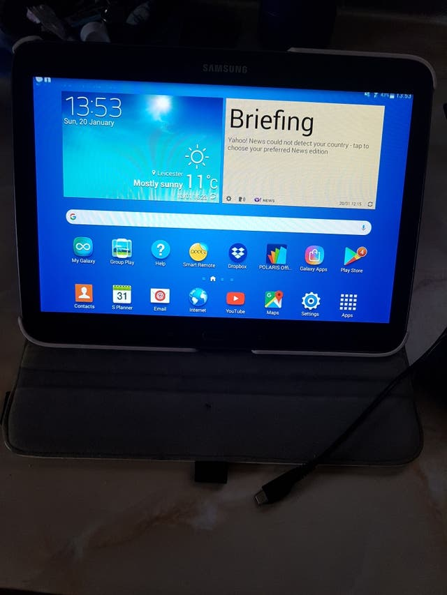 Samsung galaxy tab 3 10.1 inch like new
