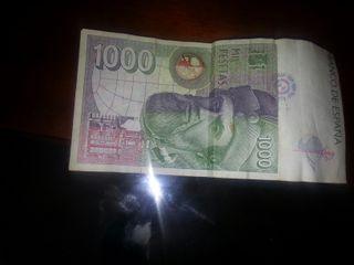 mil peseta en villete