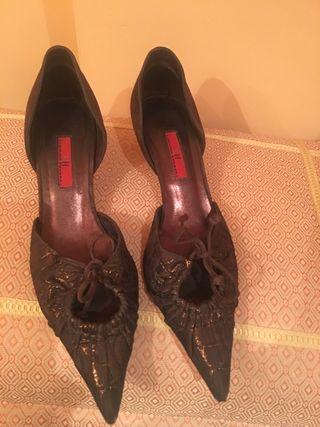 Zapatos Carolina Herrera de segunda mano en WALLAPOP dc5da57072918
