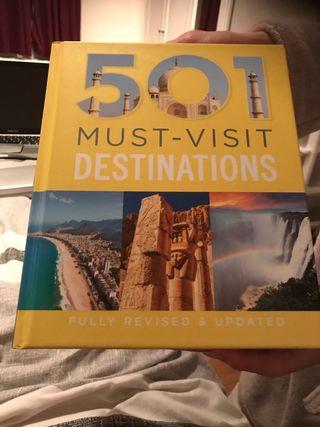 501 MUST-VISIT DESTINATIONS brand new