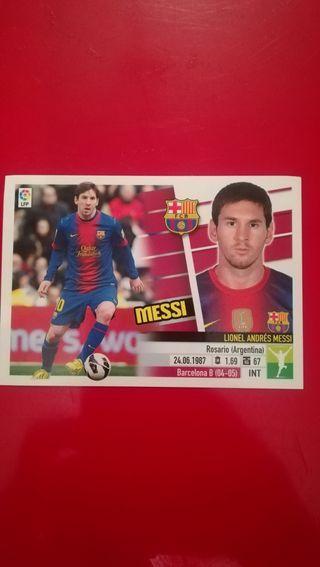Cromo de Messi