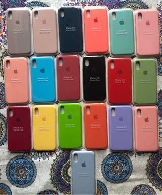 Fundas silicona iphone
