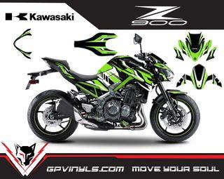 KIT ADHESIVOS KAWASAKI Z900