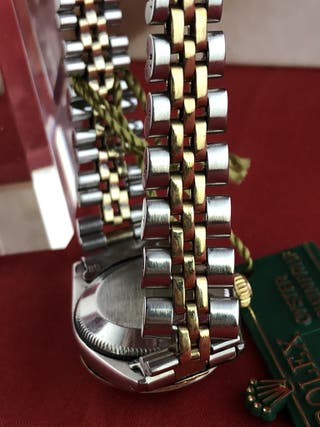Rolex Lady Oyster Perpetual Date acciaio oro